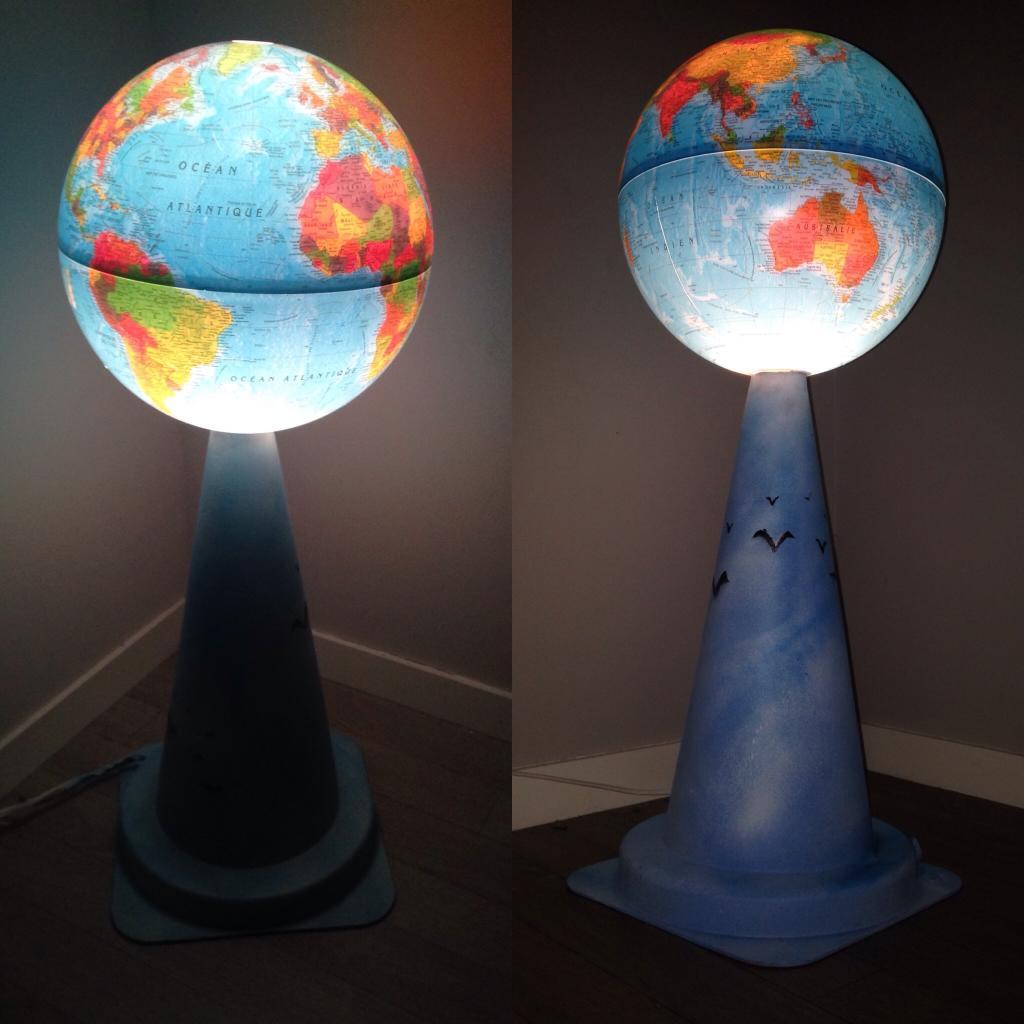 Lampe Planète en danger
