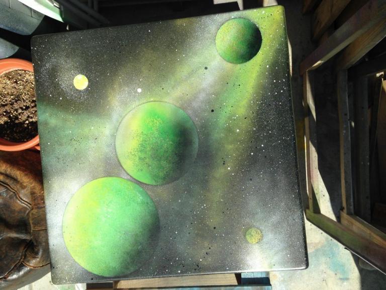 Table Basse Planète