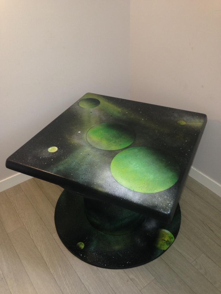 Table basse (touret de cable)